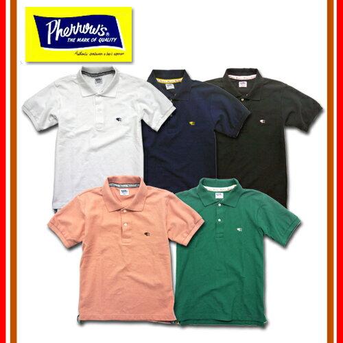 Pherrow's/フェローズ ポロシャツ PPS1
