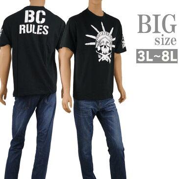 大きいサイズ Tシャツ 半袖 クルーネック メンズ BULLET CLUB 新日本プロレス C300201-05