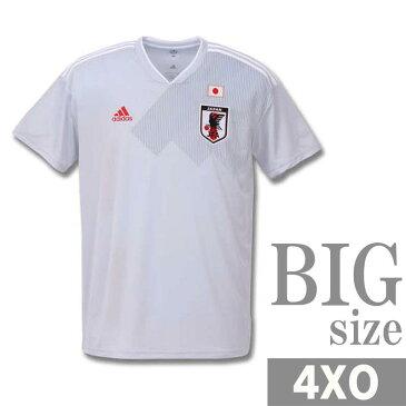 ユニフォーム サッカー メンズ 半袖 tシャツ adidas アディダス 大きいサイズ 日本代表 C300921-02