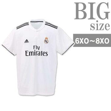 ユニフォーム サッカー メンズ 半袖tシャツ adidas アディダス 大きいサイズ レアルマドリード C300921-05