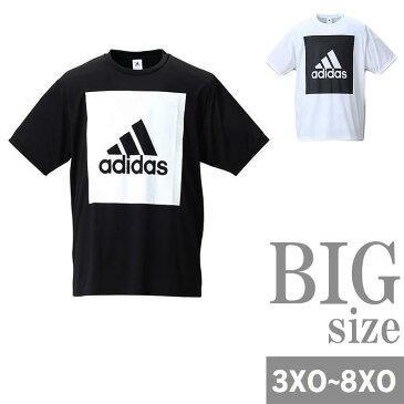 半袖Tシャツ adidas アディダス 大きいサイズ メンズ クルーネック Tシャツ トレーニング C300921-12