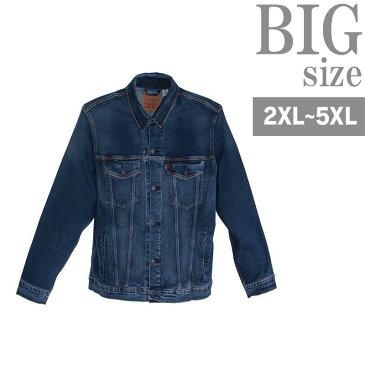 デニムジャケット 大きいサイズ リーバイス トラッカージャケット Gジャン ストレッチ C301121-18
