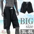 海水パンツ 黒 大きいサイズ サーフパンツ メンズ ブラック BIGサイズ オーシャンパシフィック OP C290711-07