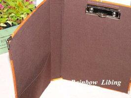 クリップボード用金具*カシメタイプ*9cm巾