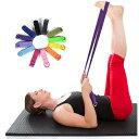 【Yoga Belt ヨガ ベルト(183cm) ストラップ...
