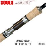 トラウトロッドエクスプローラーソウルズTF-E92HS-TZトルザイトリングスピニング