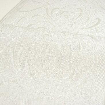 【送料無料】ふくれ織り半衿(半襟) 菊・オフホワイト 結婚式 成人式 フォーマル 白