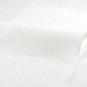 夏の白半衿(半襟) 麻 結婚式 成人式 フォーマル 白