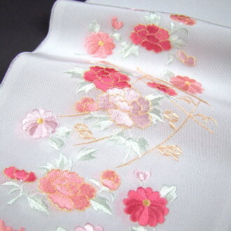 To decorate the collar 2697 Yen in the reviews mentioned fashionable embroidered kimono (Han-ERI) precise chrysanthemum and Peony wedding ceremonies graduation ceremony entrance ceremony kimono hakama