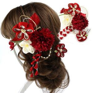 成人式 結婚式 つまみ細工髪飾...