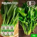 【冷凍食品】100%オーガニック 冷凍葉物野菜セット 6袋
