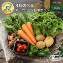 【330円OFFクーポン配布中】8品選べるオーガニック野菜セット (25種から選択)