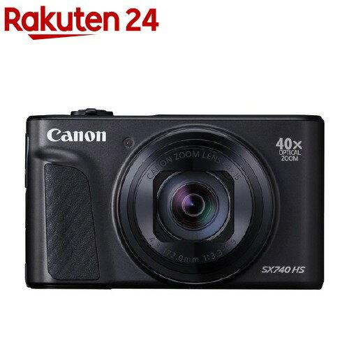 デジタルカメラ, コンパクトデジタルカメラ  PowerShot SX740 HS BK (1)