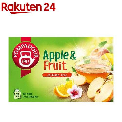 日本緑茶センター ポンパドール アップル&フルーツ TB 3gX20