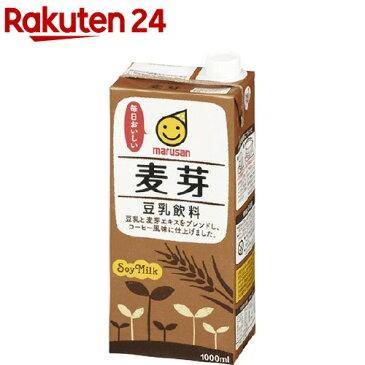 マルサン 豆乳飲料 麦芽(1L*6本入)