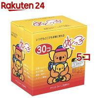 カイロ 貼らないぬくっ子 カイロ(30コ入*5コセット)【coldprotect-3】【ぬくっ子】