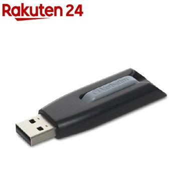 バーベイタム USBメモリー 32GB USB3.0 USBV32GVZ2(1個)【バーベイタム】