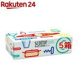 スコッティ キッチンタオル ボックス(150枚(75組)入*5コセット)