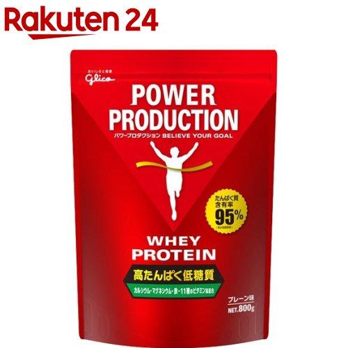 江崎グリコ パワープロダクション ホエイプロテイン プレーン味 3袋セット 江崎グリコ