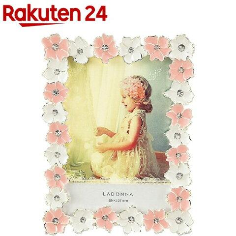 ラドンナ ブライダルジュエルフレーム L判 ピンク BJ01-L-PK(1コ入)【ラドンナ】