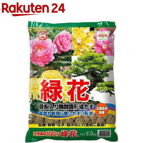 日清ガーデンメイト 緑花 中粒 2.5kg