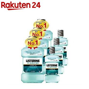 薬用 リステリン クールミント ゼロ 低刺激タイプ(1000ml+250ml*3コセット)【LISTERINE(リステリン)】[マウスウォッシュ]