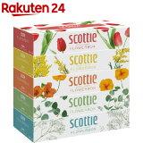 スコッティ ティシュー フラワーボックス(320枚(160組)*5コ入)