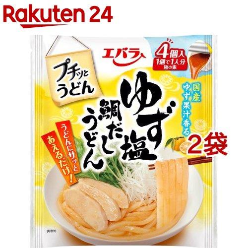 エバラ食品工業 エバラ食品 プチッとうどん ゆず塩鯛だしうどん(21g×4個) 3個 麺つゆ