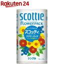 スコッティ フラワーパック シングル(12ロール)【スコッテ...