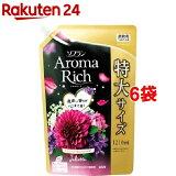 ソフラン アロマリッチ ジュリエット スイートフローラルアロマの香り  詰替用特大(1210mL*6コセット)