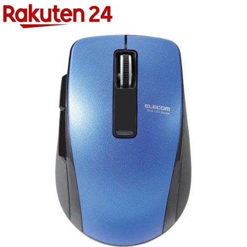 エレコムマウスワイヤレスBluetooth握りやすい5ボタンブルーM-BT20BBBU(1個)【エレコム(ELECOM)】
