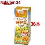 農協 野菜Days フルーツ&黄野菜100%(200mL*18本入*2)