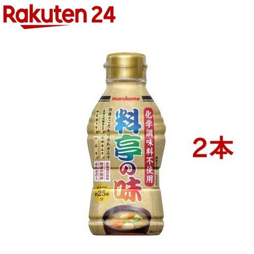 マルコメ 料亭の味 ボトル430g [1278]