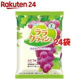 蒟蒻畑 ララクラッシュ ぶどう味(24g*8コ入*24袋セット)