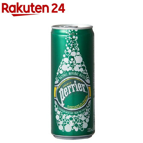 ネスレ ペリエ ナチュラル 炭酸水(330mL*4缶入) [0712]
