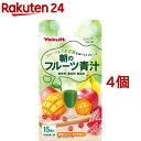 ヤクルト 朝のフルーツ青汁(7g*15袋入*4コセット)【元気な畑】 1