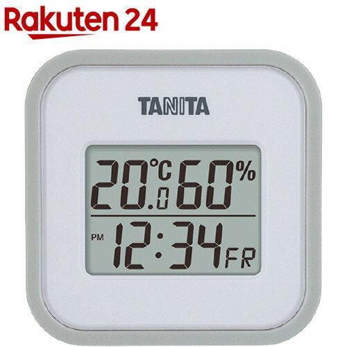 デジタル温湿度計 TT-558GYグレー
