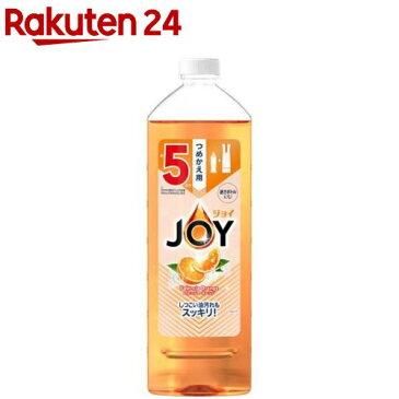 ジョイ コンパクト バレンシアオレンジの香り 特大 つめかえ用(770ml)【ジョイ(Joy)】