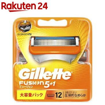 ジレット フュージョン5+1 替刃12B(12コ入)【ジレット】【送料無料】