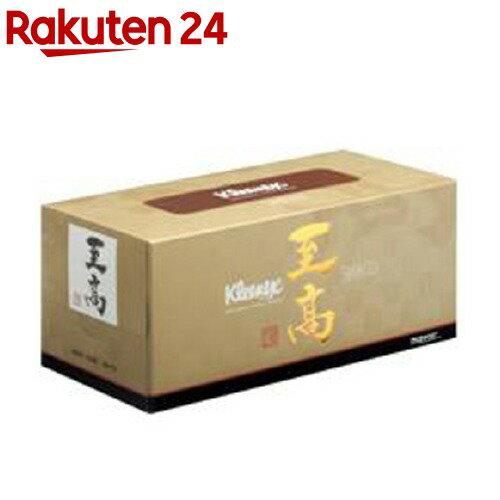 日本製紙クレシア ティッシュペーパー 高品質 160組 1箱 クリネックス至高ティッシュー