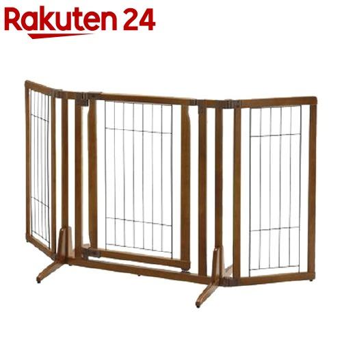 木製おくだけドア付ペットゲートH レギュラー ブラウン(1コ入)【リッチェル(ペット)】