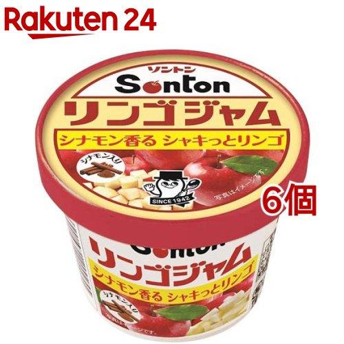 ソントン食品工業 Fカップ リンゴジャム シナモン入り 135g