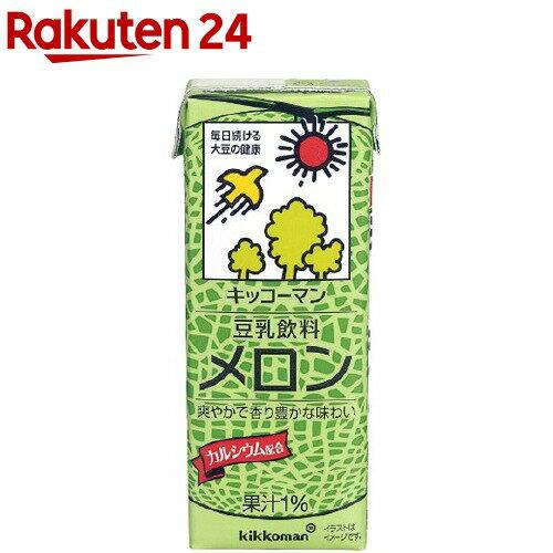 キッコーマン豆乳飲料メロン(200ml*18本入) キッコーマン