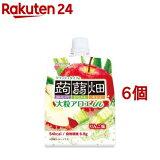 大粒アロエinクラッシュタイプの蒟蒻畑 りんご味(150g*6個セット)