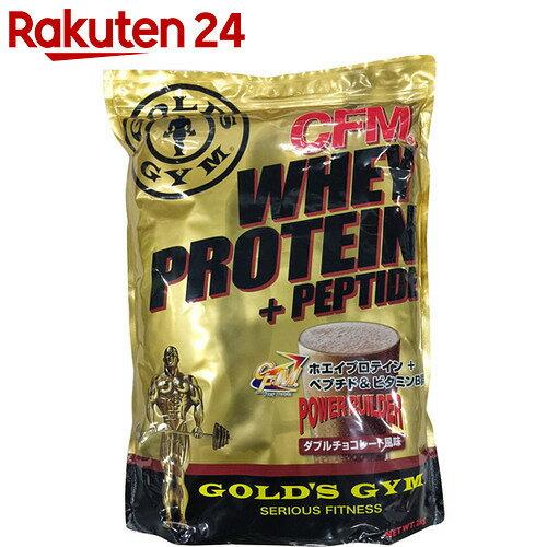 ゴールドジム ホエイプロテイン ダブルチョコレート風味 2kg[ゴールドジム ホエイプロテ...