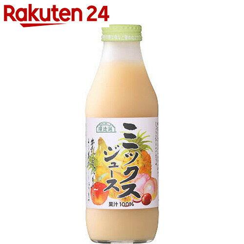 マルカイ 順造選 ミックスジュース 500ml×12本【24】【ケース販売】[順造選 フルーツジュース(果汁100%)]