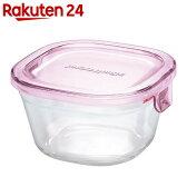 iwaki パック&レンジ 200ml KT3200-P ピンク【楽天24】[iwaki 電子レンジ対応ガラス食器]