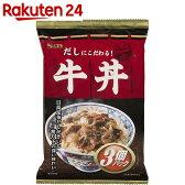 どんぶり党 牛丼 120g×3袋【楽天24】【あす楽対応】[エスビー食品 惣菜(レトルト)]