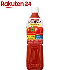 野菜・果実飲料の人気はカゴメ!トマトジュース 食塩無添加 スマートPETの評判・レビュー