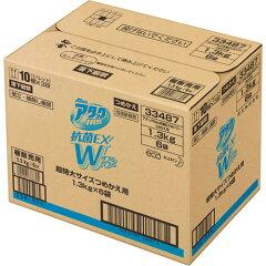 【ケース販売】アタックNeo抗菌EXWパワー超特大サイズつめかえ用1300g×6個2枚目